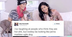 Kylie Jenner And Jenna Marbles Read Mean Tweets About Their Dogs And It Was Hilariously Mean