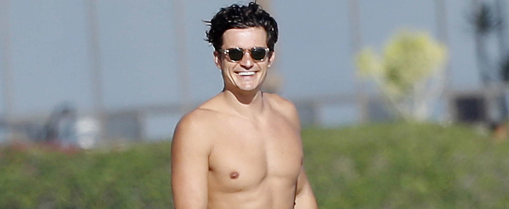 Orlando Bloom's Shirtless Beach Day Will Make Your Monday Completely Bearable