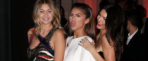 Kendall Jenner, Gigi Hadid, and Zendaya Have a Girls' Night Out in Paris