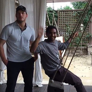Chris Pratt and Aziz Ansari's Video With Jennifer Lawrence