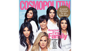 Cosmo Calls The Kardashian's 'America's First Family' And People Are Not Happy