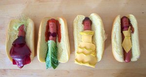 Disney Princesses As Hot Dogs Are Frankly Adorable