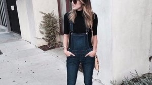 How to Style Overalls For Fall
