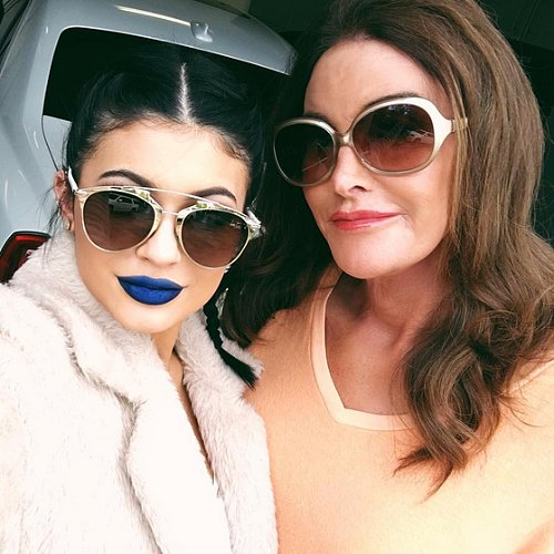 What Is Kylie Jenner's Blue Lipstick?