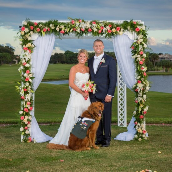 Dog Is Best Man at Wedding