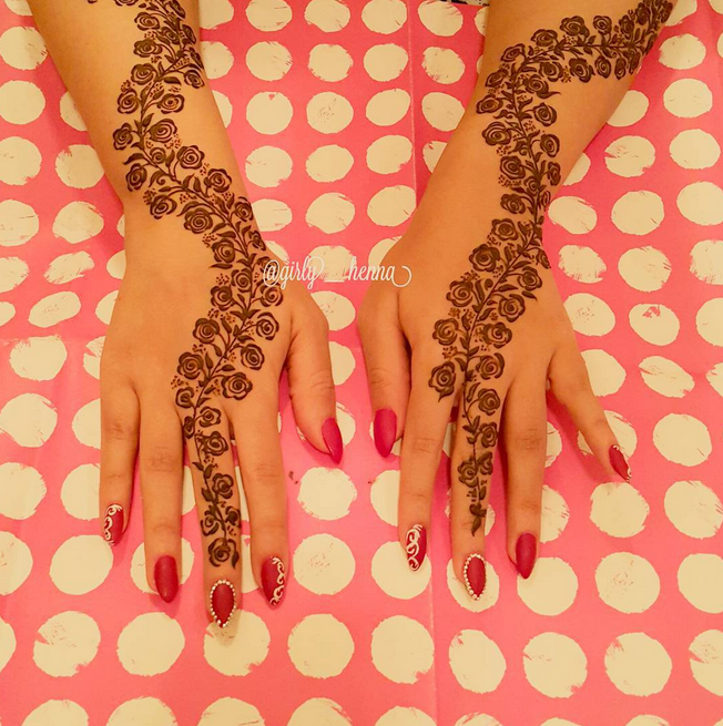 Henna For The Amazing Hibaalahmadi A Video Posted By The