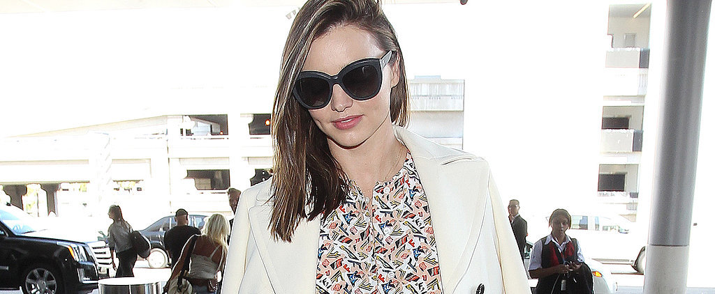 Miranda Kerr's Airport Outfit Just Inspired Our Office Look For Tomorrow