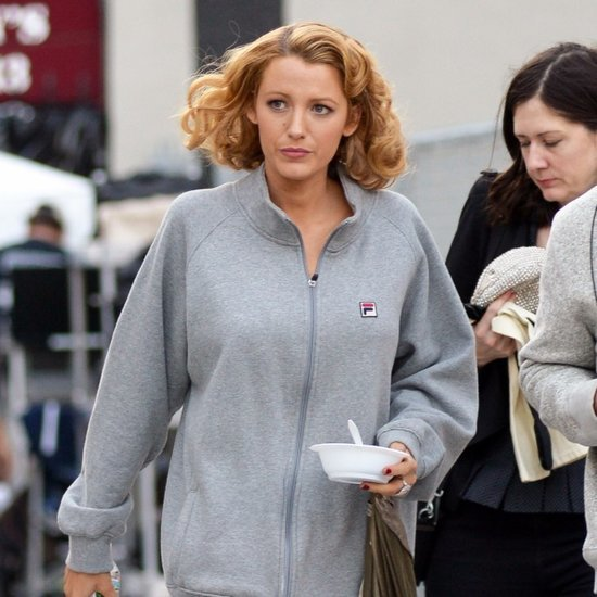 Blake Lively on the Set of Her New Movie October 2015