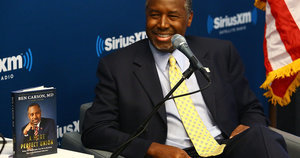 Ben Carson Suggests Some 'Lifestyles' Are More Valuable Than Others