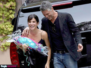 Exclusive Photo! Sandra Bullock's Happy Life with Boyfriend Bryan Randall