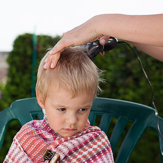 Mom Shaves Son's Hair as Punishment
