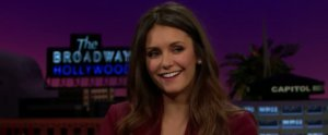 Watch Nina Dobrev Recite R. Kelly Lyrics in Bulgarian