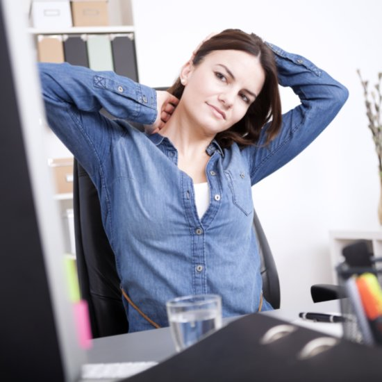 Neck Stretch at Desk