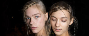 The Cute Faux Fringe Plait You Need to Master For Spring