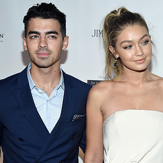 Joe Jonas and Gigi Hadid's First Red Carpet Appearance