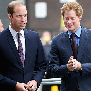 Why Prince William and Prince Harry Mark Their Shoes
