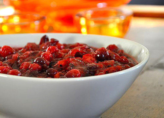 Cranberry Sauce With Caramelized Onion