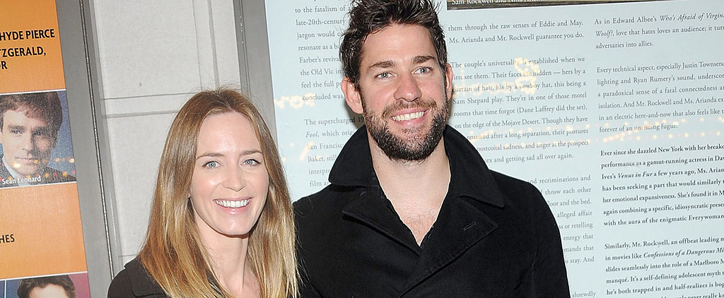 John Krasinski and Emily Blunt Have a Broadway Date Night
