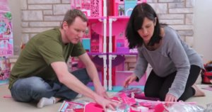 The Hilarious Nightmare Of Putting Together Barbie's Dreamhouse