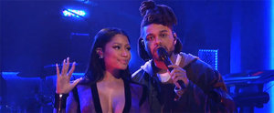 Surprise! Nicki Minaj Casually Dropped by SNL to Perform With The Weeknd