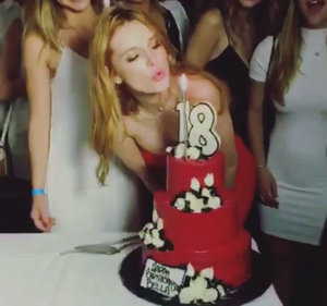 Bella Thorne Takes Over Six Flags Theme Park to Celebrate 18th Birthday: Pics