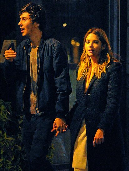 Ashley Benson Holds Hands with Nat Wolff Out in N.Y.C. - Are They More Than Just Friends?