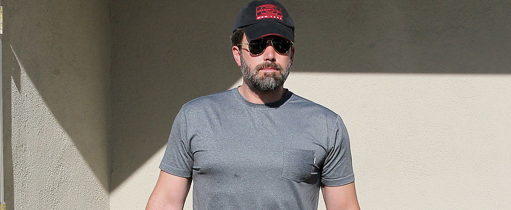 Ben Affleck Shows Off Those Batman Muscles During a Trip to the Farmers Market
