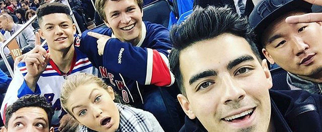 Ansel Elgort Posts His Own Version of the Oscars Selfie