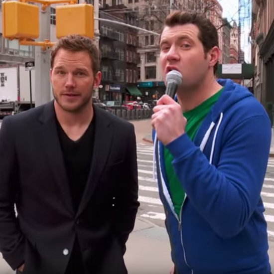Chris Pratt on Billy on the Street 2015 | Video