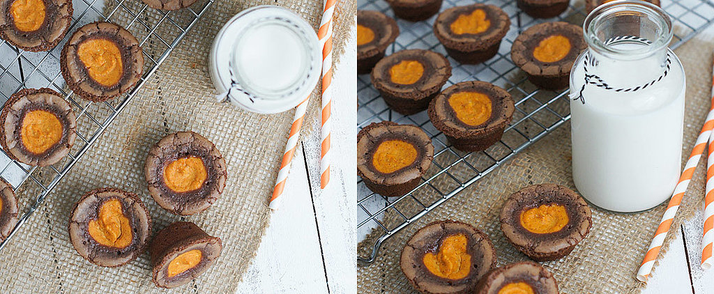 These Pumpkin Cheesecake Brownie Bites Are Positively Addictive