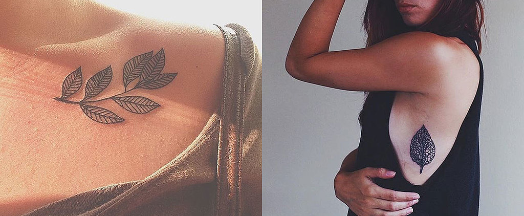 17 Spring-Inspired Tattoos That Show Off the Dreamiest Leaves