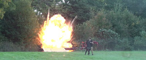This Father Pranked His Girlfriend Into Thinking Their Kid Exploded, and We Doubt You'll Find It Funny