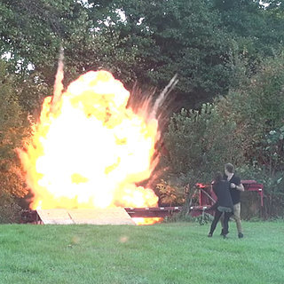 Father Pranks Mom Into Thinking Son Blew Up on Four-Wheeler