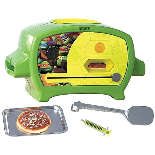 For 8-Year-Olds: Teenage Mutant Ninja Turtles Pizza Oven