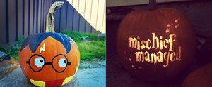 23 Magical Harry Potter Pumpkin Ideas to Steal
