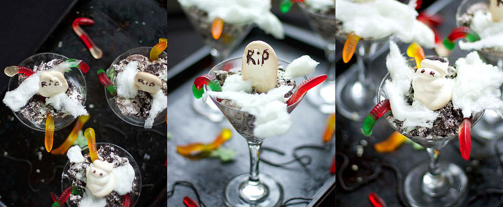 "How to Transform Oreos Into a Ghoulish Graveyard ""Dirt"" Cake"