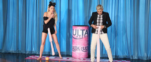 "Miley Cyrus Plays a Hilariously Inappropriate ""Wrecking Balls"" Game With Ellen DeGeneres"