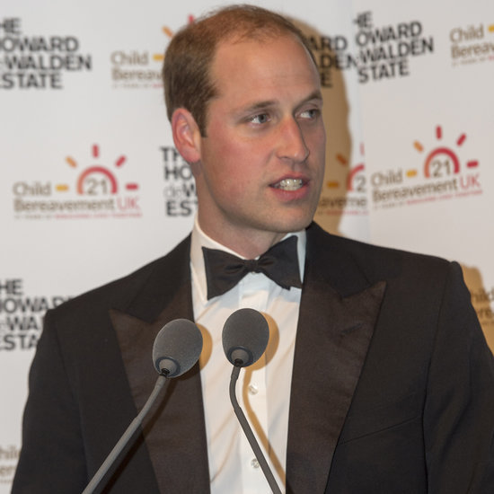 Prince William Speaks at Child Bereavement Charity Gala 2015
