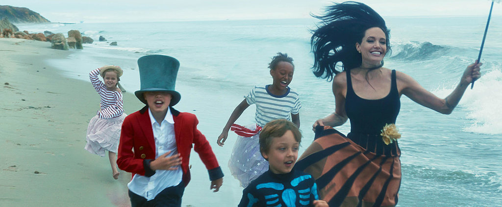 Angelina Jolie, Brad Pitt, and Their 6 Kids Stun in Vogue's November Issue