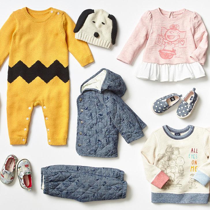 Gap Peanuts Clothing Line Holiday 2015