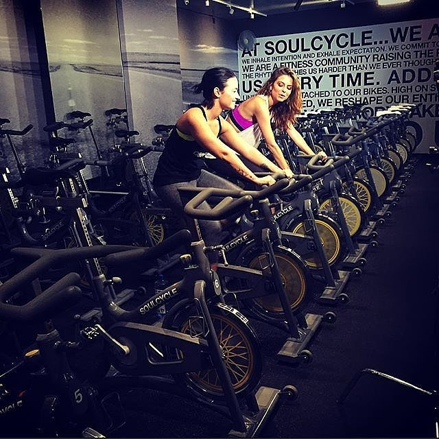 SoulCycle for Demi Lovato!