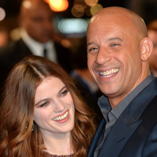 Vin Diesel and Rose Leslie at The Last Witch Hunter Premiere