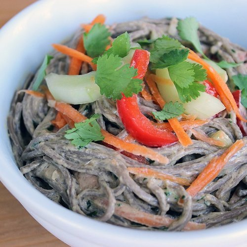 Healthy Soba Noodle Salad Recipe | POPSUGAR Fitness