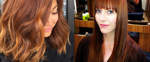 Pumpkin Spice Colour Is the Newest Way to Add Flair to Hair