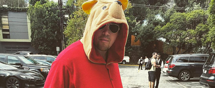 Channing Tatum Gets Into the Halloween Spirit For His Little Girl