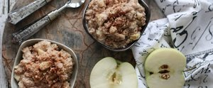 Never Skip Breakfast Again With 5-Minute Apple Pie Oatmeal