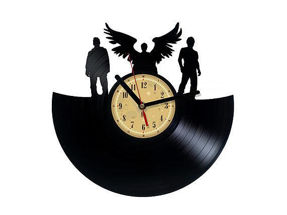Vinyl Clock ($ 34)