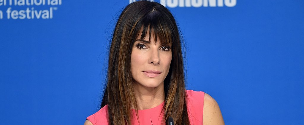 "Sandra Bullock on Discussing Racism With Her Son: ""It's an Open Conversation We Have"""