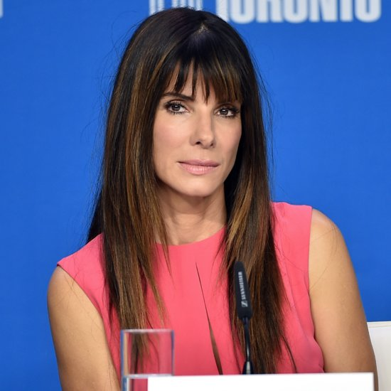Sandra Bullock Talks to Her Son About Racism