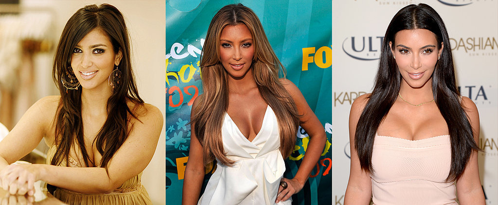 From Party Girl to Hot Mum: See Kim Kardashian's Evolution in Pictures
